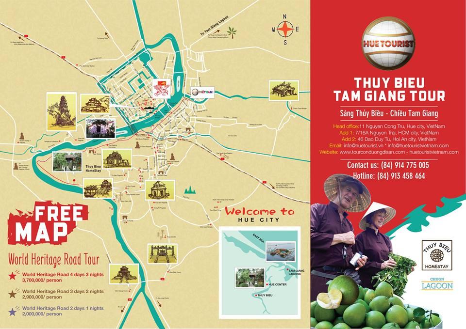 THUY BIEU VILLAGE - TAM GIANG LAGOON TOUR 2018