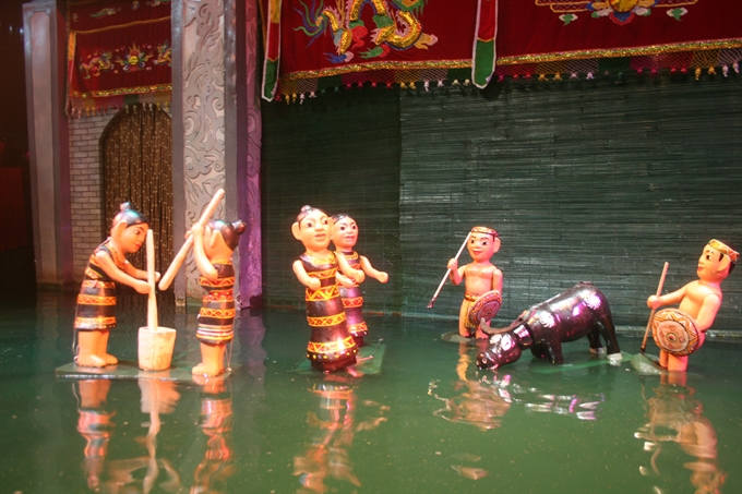 Water puppetry – a must-see show for tourists to Hanoi