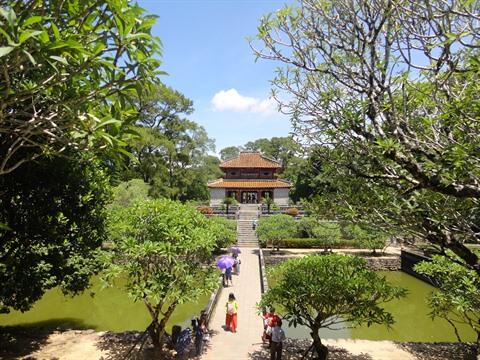 À la découverte du tombeau du roi Minh Mang