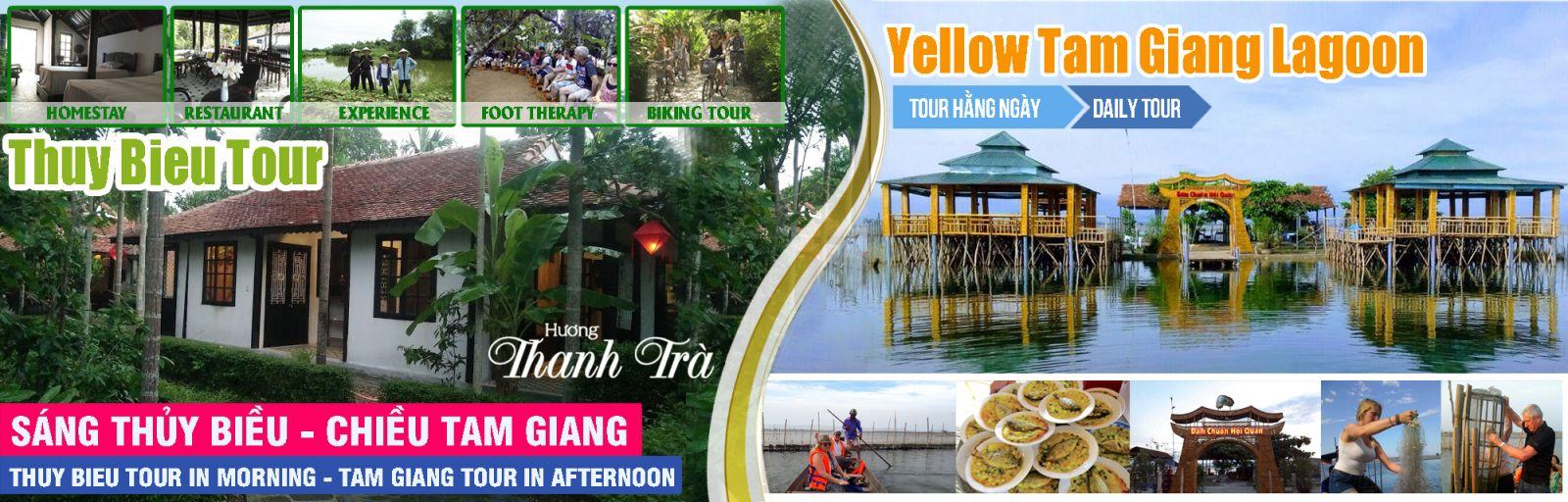 Thuy Bieu- Tam Giang tour: New interesting tour in Hue